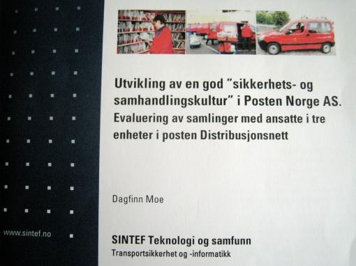 En 40-siders rapport beskriver og evaluerer Bjørns konsept for POSTEN NORGE AS.