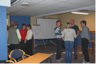Refleksjon rundt kurset i smågrupper
